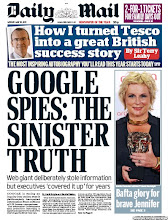 Photo: Sinister truth about Google spies: Street View cars stole information from British households but executives 'covered it up' for years Read the story here: http://bit.ly/LWnguv   BAFTA TV Awards 2012: Jennifer Saunders got a gong for Best Female Performance in a Comedy Programme for Ab Fab, Coronation Street win Best Soap and Rolf Harris, was given the Fellowship award for being 'a national British treasure' Read the story here: http://bit.ly/JP8AX9