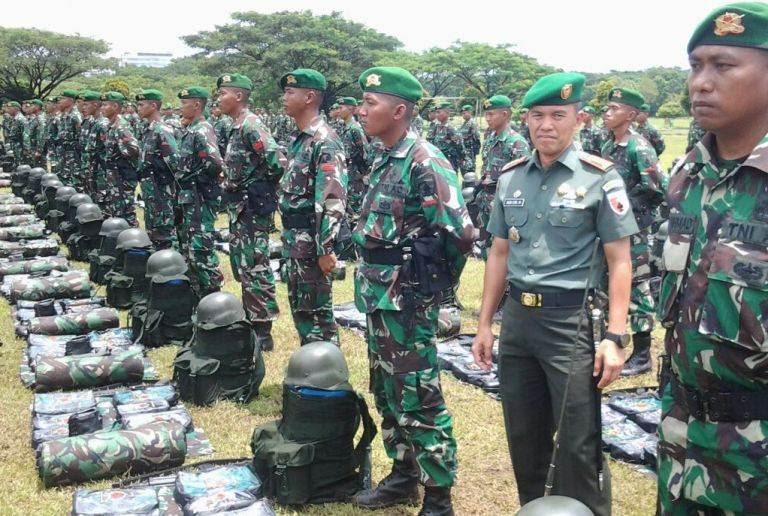 Pangdam V Inspeksi pengganti pasukan penjaga perbatasan RI - Papua Nugini