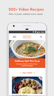 Panna: Recipe Videos & Cooking Classes Screenshot