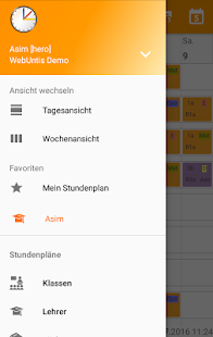 Untis Mobile – Miniaturansicht des Screenshots