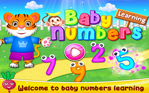 Baby Numbers Learning Game for Preschoolers & Kids 1.0 screenshots 9
