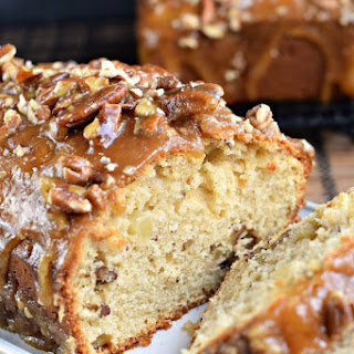 Praline Topped Apple Bread.