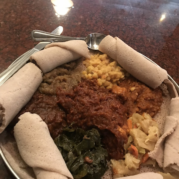 Photo from Elephant Walk Indian Ethiopian Bar and Grill