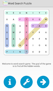 Word Search Puzzle- screenshot thumbnail