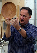 Photo: Then Stan would show a 3D example of the effect of cutting the bowl.