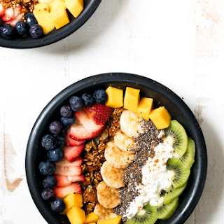 Protein-Packed Rainbow Cottage Cheese Breakfast Bowls.