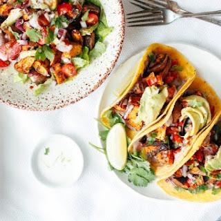 Sweet Potato Pecan Tacos