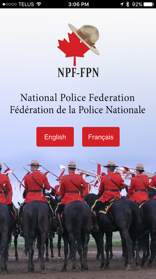 National Police Federation- screenshot