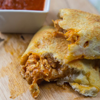 Chicken Parmesan Calzones Recipe