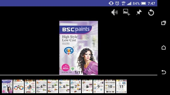 BSC Paints Catalogue- screenshot thumbnail