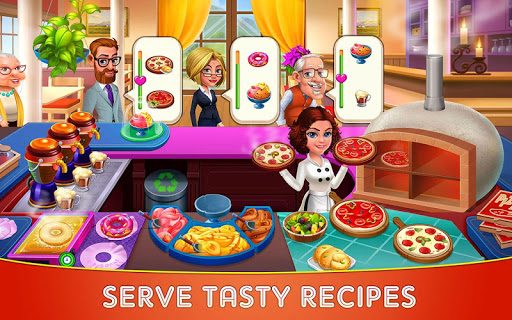 Cooking Cafe u2013 Restaurant Star : Chef Tycoon 2.5 screenshots 1