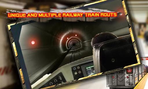 電車地下鉄シミュレータードライビング