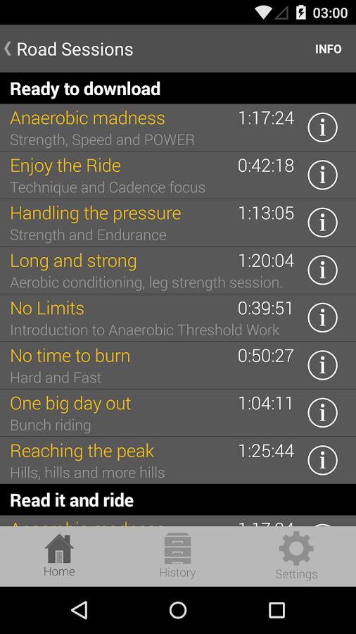 CYCLE COACH APP PREMIUM- screenshot