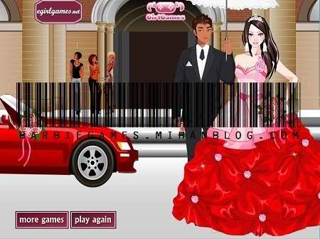 بازی باربی عروسی