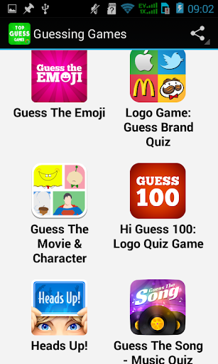 Top Guessing Games