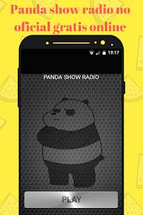 PANDA SHOW RADIO NO OFICIAL ON LINE GRATIS MEXICO - náhled