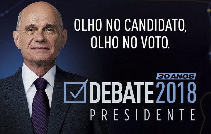 Ricardo Boechat será o mediador do primeiro debate da Band