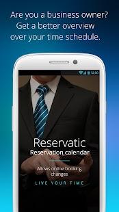 Reservatic - náhled