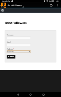 1000 Followers - náhled