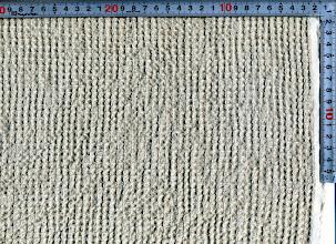 Photo: L40HT-TW:麻ワッフルキナリ加工済108巾  10m~C