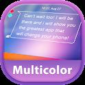 GO SMS Pro Multicolor icon