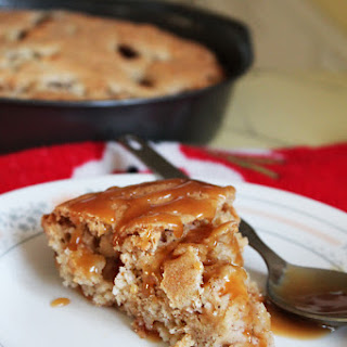 Apple Cake with Buttery Caramel Sauce Recipe