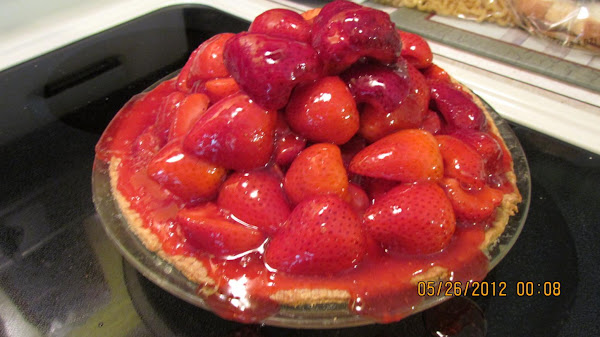 Mile High Strawberry Pie! Recipe