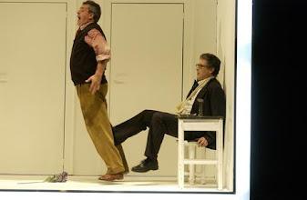 Photo: DIE MEISTERSINGER VON NÜRNBERG an der Wiener Volksoper. Franz Hawlata als Hans Sachs. Inszenierung Christine Mielitz