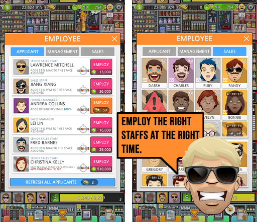 Mega Store Manager: Business Idle Clicker 1.0.62 screenshots 2