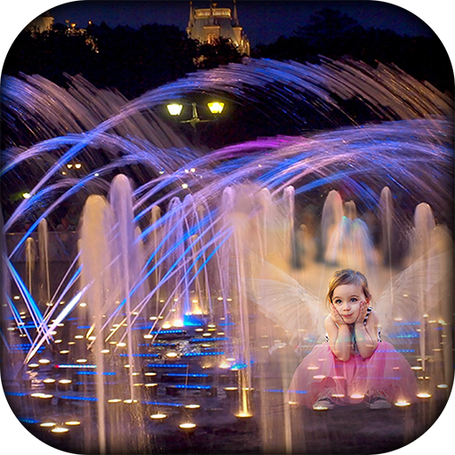 Water Fountain Photo Frames