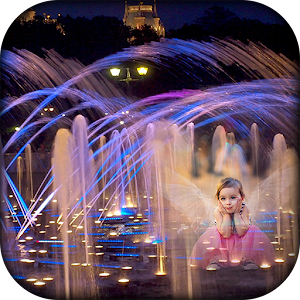 Water Fountain Photo Frames