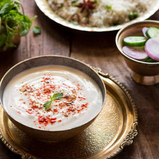 Burani Raita Recipe (Garlic Based Yogurt).