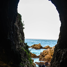 Grand Entrance by Sanjeev Sampath - Landscapes Caves & Formations ( knysna, cave )