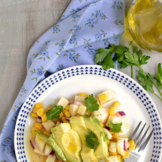 Jicama-Avocado Salad with Citrus Vinaigrette