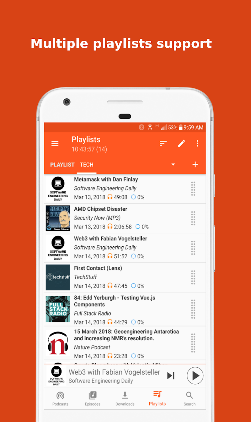 Podcast Republic - Podcast Player & Podcast App Screenshot 3
