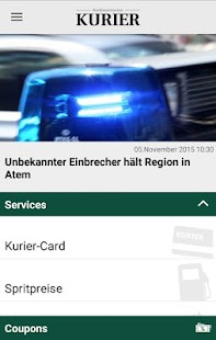 Kurier Service- screenshot thumbnail