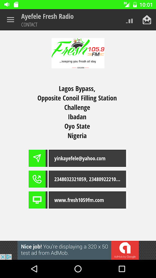 Ayefele Fresh Radio- screenshot