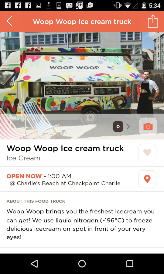 Find Your Food Truck- screenshot