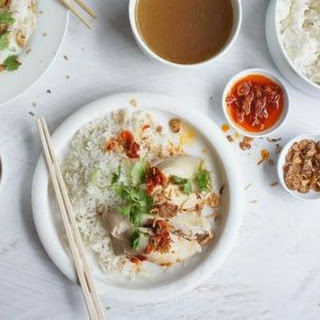 Hainanese Chicken Rice Express.