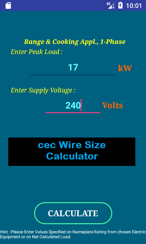 Cec wire size calculator full android apps on google play cec wire size calculator full screenshot greentooth Image collections
