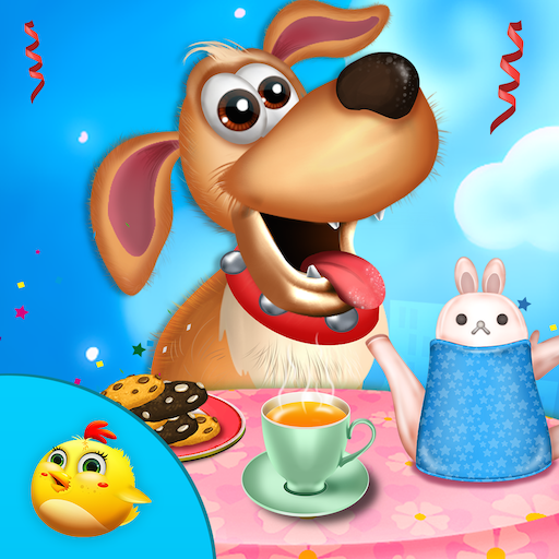 小狗茶黨慶祝 教育 App LOGO-APP開箱王