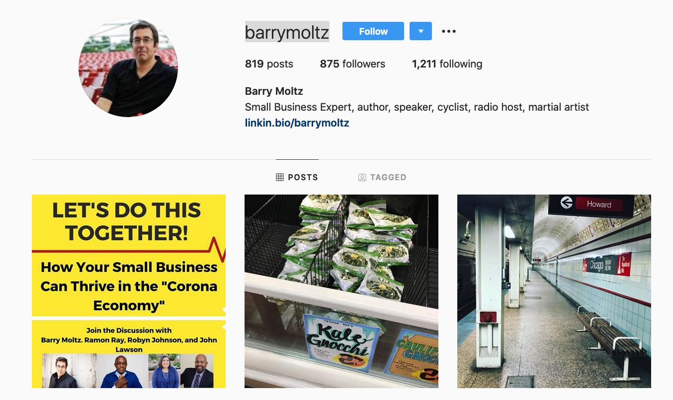 Barry Moltz | 50+ Social Media Influencers