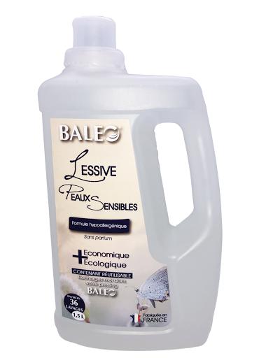 lessive peaux sensibles écologique formule hypoallergénique