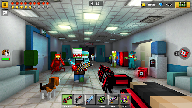 3D Pixel Gun (Pocket Edition) APK screenshot thumbnail 3