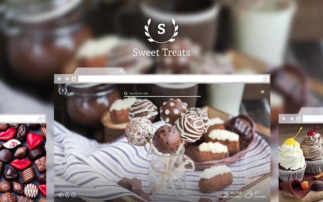 Sweet Treats HD Wallpaper New Tab Theme