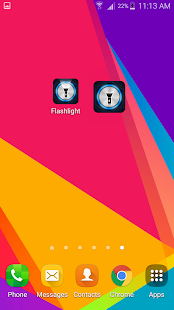 Flashlight for HTC- screenshot thumbnail
