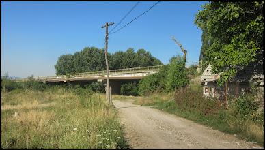 Photo: Str. Alba Iulia, pod peste Raul Aries si  Str. Funicularului - vedere de pe Str. Funicularului - 2017.07.18
