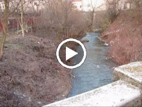 Video: Video de pe podetul de pe Str. Mircea cel Batran  - 2010.03.06