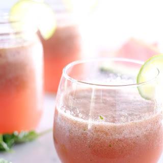 Strawberry Basil Watermelon Agua Fresca (Refined Sugar-Free)