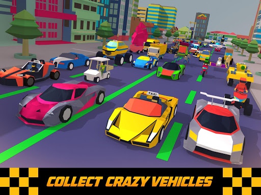 Crazy Traffic Taxi Screenshot